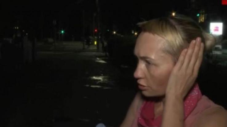 ruskinja na protestima beograd