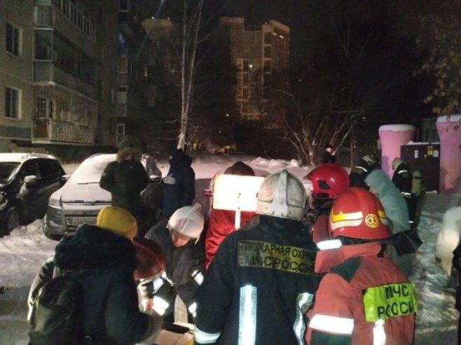Пожар у Јекатеринбургу (Русија)